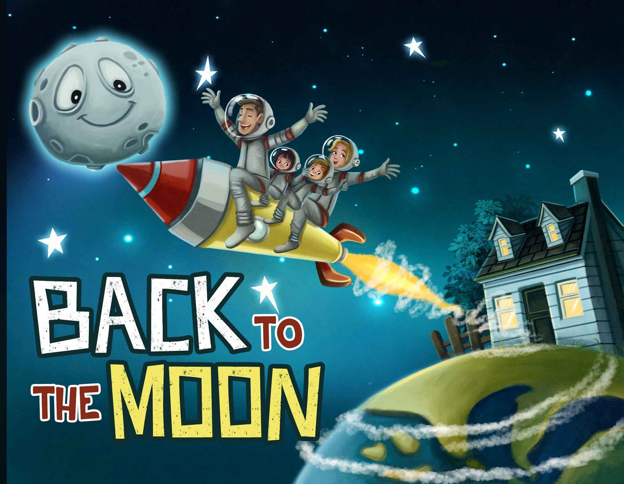 back to moon children book